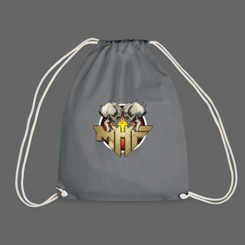 new mhf logo - Drawstring Bag