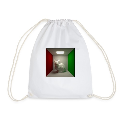 Bunny in a Box - Drawstring Bag