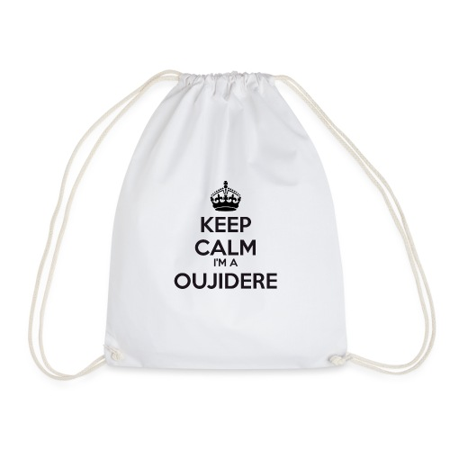 Oujidere keep calm - Drawstring Bag