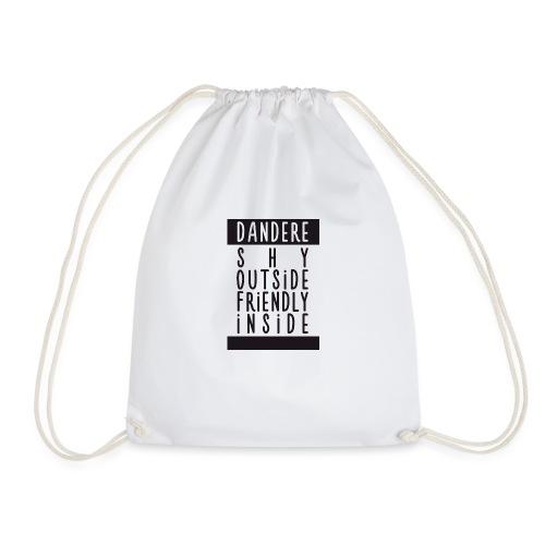 Dandere manga - Drawstring Bag