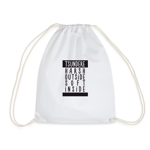 Tsundere manga - Drawstring Bag