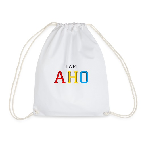 I am aho - Drawstring Bag