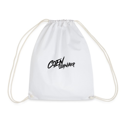 Black - Drawstring Bag