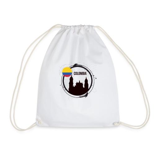 Kolumbien T-Shirt - Turnbeutel