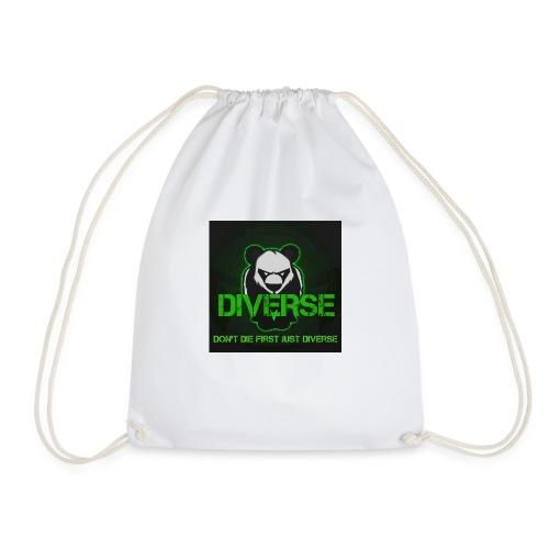 Diverse Logo - Drawstring Bag