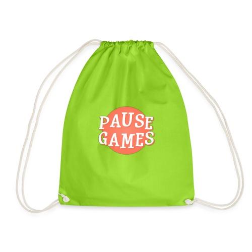 Pause Games Logo - Drawstring Bag