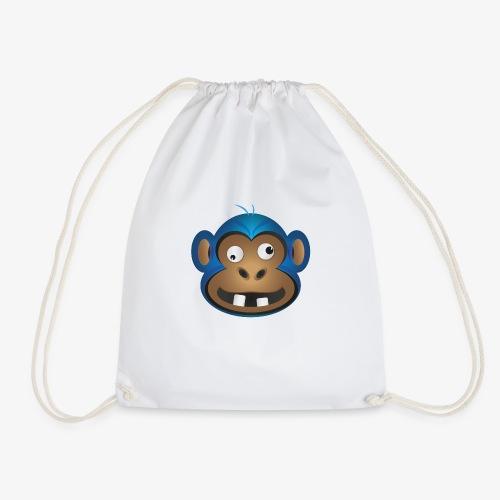 Affenbande Schimpanse - Turnbeutel