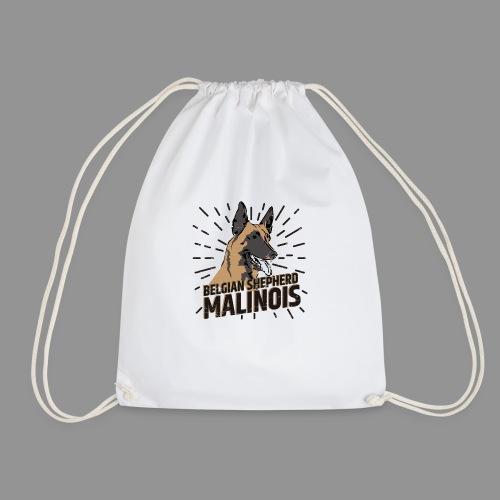 Belgian shepherd - Drawstring Bag