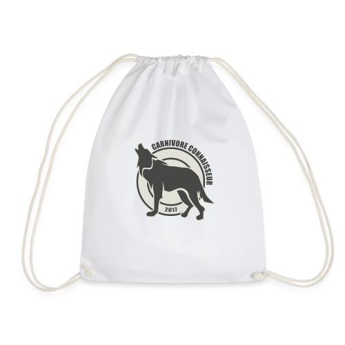 Fleischfresser - Grillshirt - Der mit dem Wolf heu - Turnbeutel