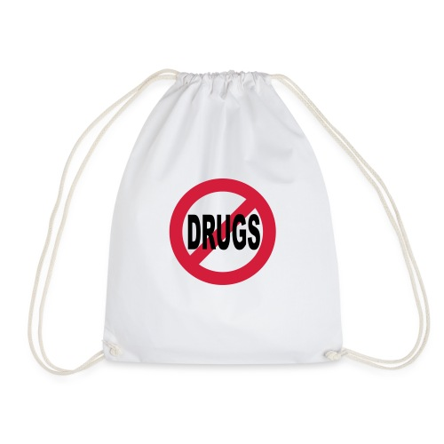 No to drugs - Drawstring Bag