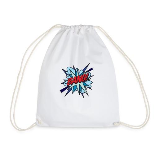 Comic Book Pop Art BANG! - Drawstring Bag