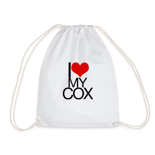 I Love My Cox - Drawstring Bag