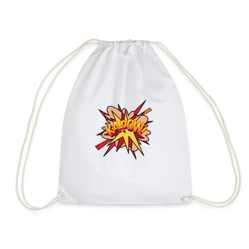 Comic Book Pop Art KA-POW - Drawstring Bag