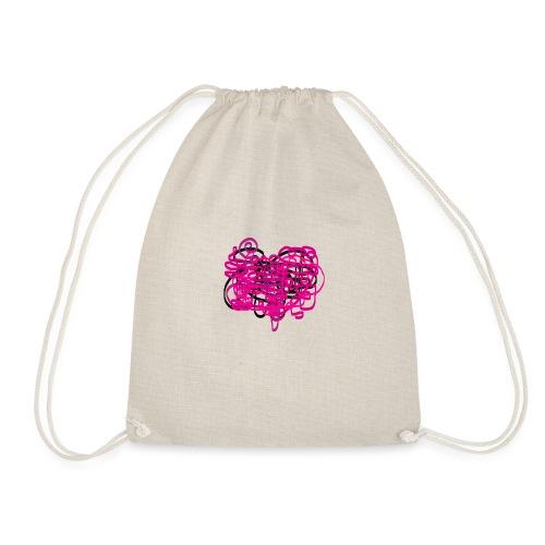 delicious pink - Drawstring Bag