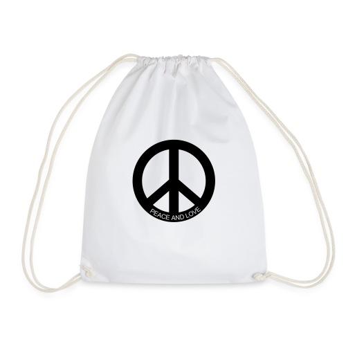 peace and love - Sac de sport léger