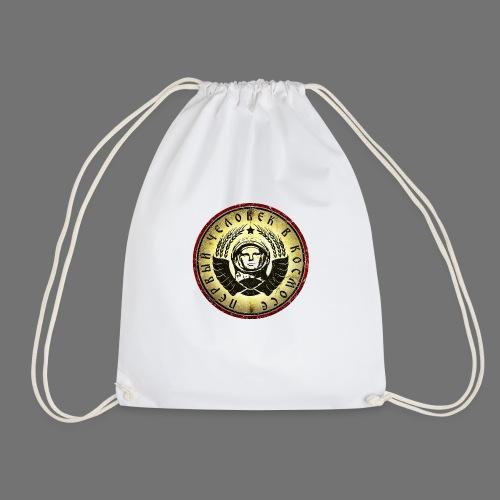 Cosmonaut 4c retro (oldstyle) - Drawstring Bag