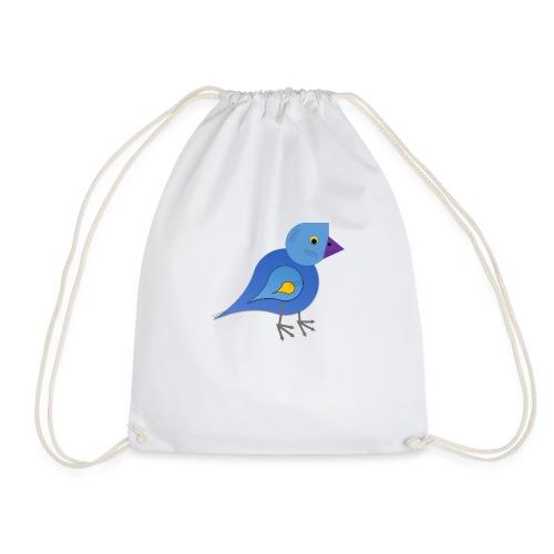 Bird of Shapes - Drawstring Bag