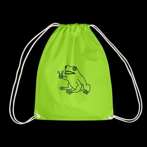 Funny Animal Frog Frosch - Turnbeutel