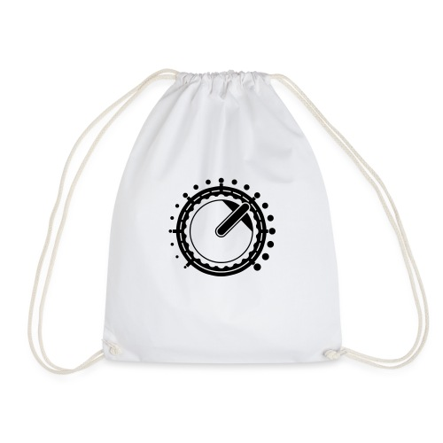 Knob White - Drawstring Bag