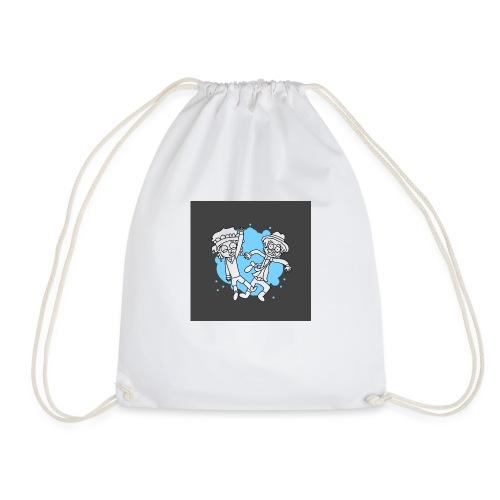 Button IJ - Drawstring Bag