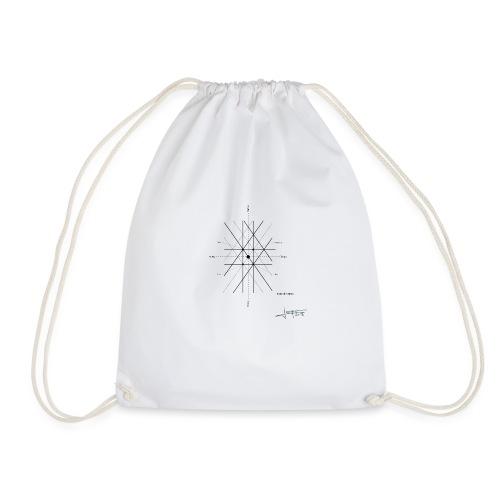 mathematique du centre_de_lunivers - Drawstring Bag