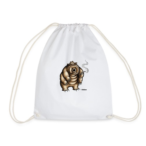 Smokey the Water Bear - Drawstring Bag