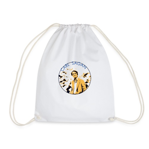 Vintage Carl Sagan - Drawstring Bag