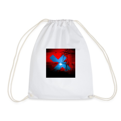 X sunset - Drawstring Bag