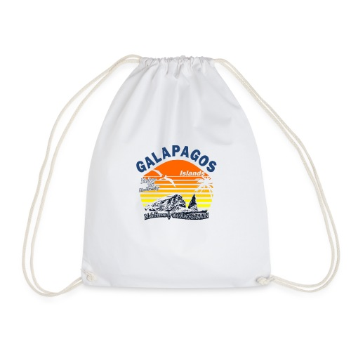 Galapagos Islands - Drawstring Bag