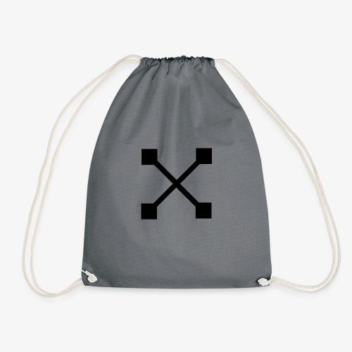 X BLK - Turnbeutel