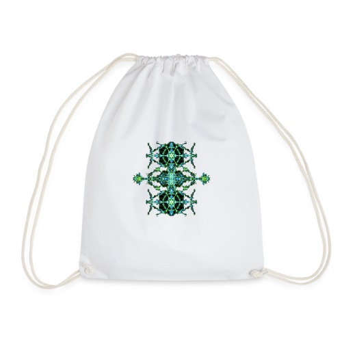 Green Lightning - Drawstring Bag