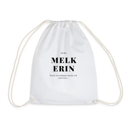 Melkerin - Cooles Design für die Landwirtin - Turnbeutel
