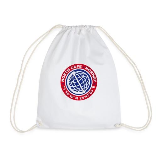 Nordkapp Norge Tur - Drawstring Bag