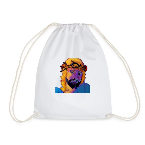 Pudding Jesus 11 - Drawstring Bag