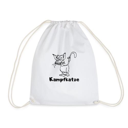 Kampfkatze - Turnbeutel
