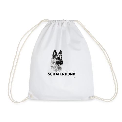 Home is where my Schäferhund is ! - Turnbeutel