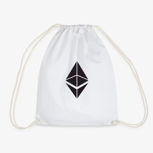 Ethereum Crypto Currency - Drawstring Bag