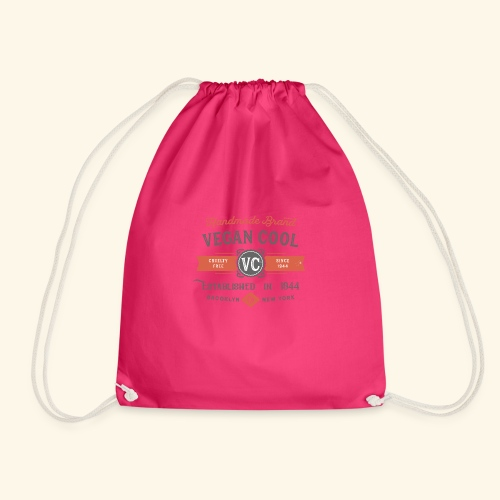 VEGAN COOL VINTAGE Brand - Drawstring Bag