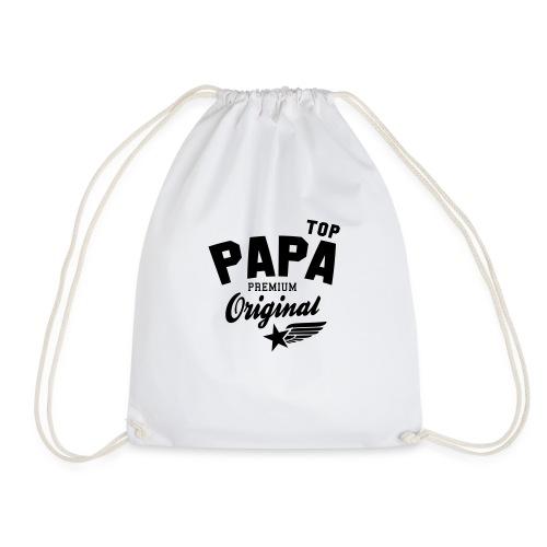 Original TOP PAPA - Premium Vater Design - Turnbeutel