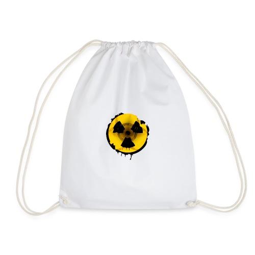 Radioaktives Tschernobyl-Schild - Turnbeutel