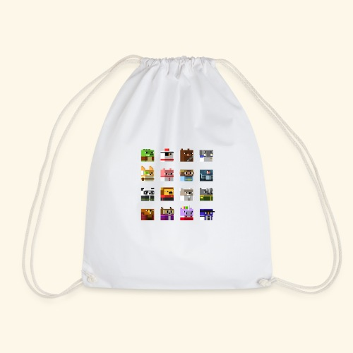A Planet of Mine Animals - Drawstring Bag