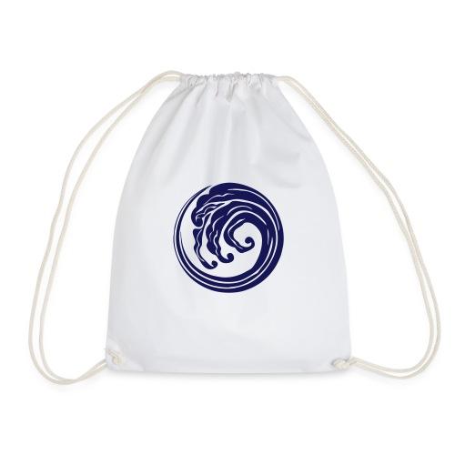 logo blue - Sacca sportiva
