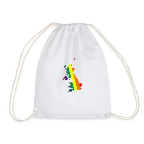 UK Pride - Drawstring Bag