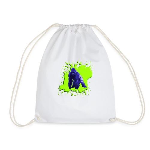 Blue Green Gorilla - Turnbeutel