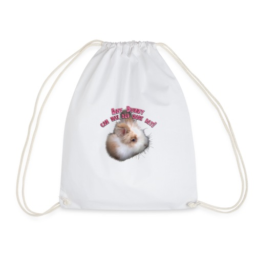 Bad Hare Bunny - Drawstring Bag