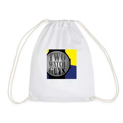Two watch Guys logo - Drawstring Bag