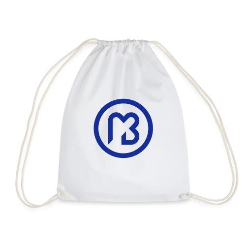 Mark Blast logo RVB macaron bleu - Sac de sport léger