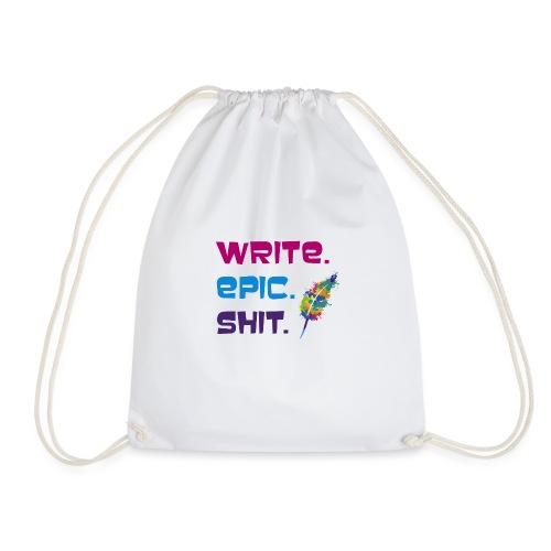 Write.Epic.Shit by www.Schreiben-im-Flow.de - Turnbeutel