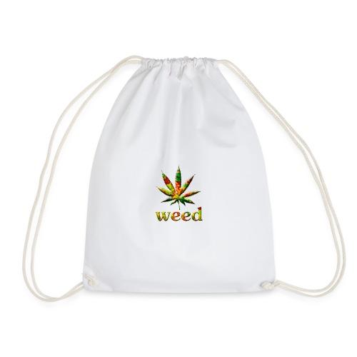 marijuana leaf - Turnbeutel