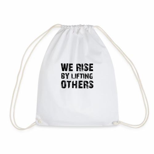 weriseblack - Drawstring Bag